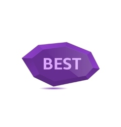 Best icon vector image vector image
