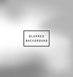 Blurred abstract gradient background silver gray vector image