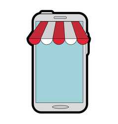 Buy online shopping vector