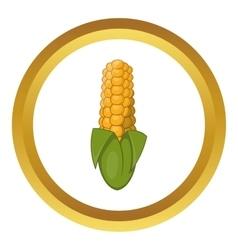 Ear of corn icon vector image vector image