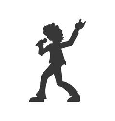 Musician icon Rock music design graphic vector image