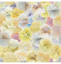 Pastel flowers pattern vector