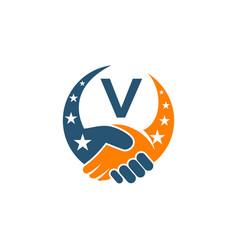 Success partners initial v vector