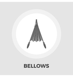 Bellows flat icon vector