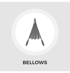 Bellows flat icon vector