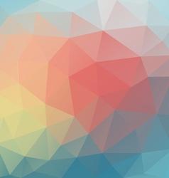 PolygonBackground03 vector image vector image
