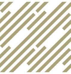 Seamless geometric pattern Stripy texture vector image