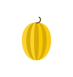 Melon icon in flat style vector