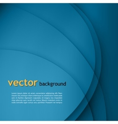Blue smooth twist light lines background vector