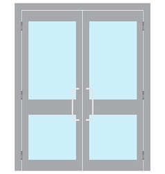 Entrance door vector image