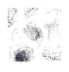 hatching elements set vector image