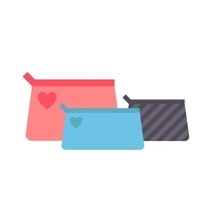 Clutch handbag vector