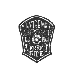 Extreme Sport Vintage Badge vector image vector image