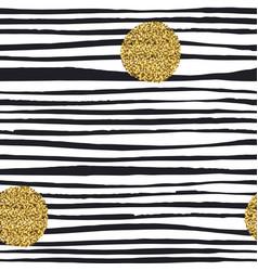Golden glitter dots grunge polka dots seamless vector