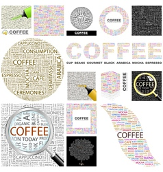 Coffee vector