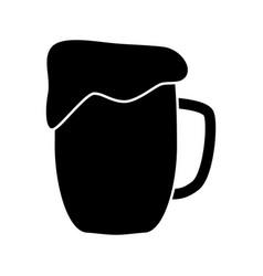 Cup beer vector