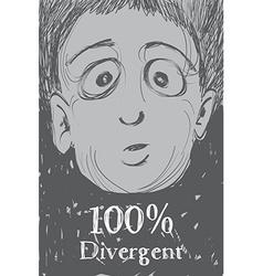 Divergent vector image vector image
