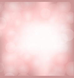 pink blurred light background vector image vector image