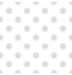 Polka dot in grey gradient circles of multiple vector