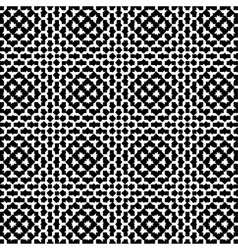 Seamless - black geometric shapes vector