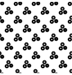 Gear pattern seamless vector