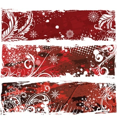 Christmas web banners vector