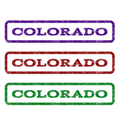 Colorado watermark stamp vector