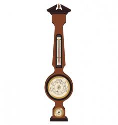 banjo weather station vector image
