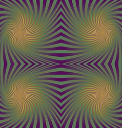 Colorful seamless swirling rays pattern background vector