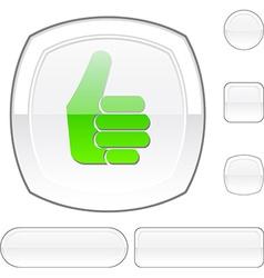 Good white button vector