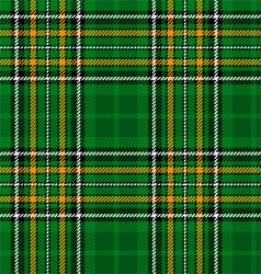 Ireland National Tartan vector image