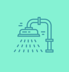 Isolated plumbing icon vector