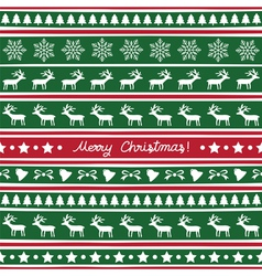 Seamless Christmas background15 vector image