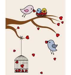 Card san Valentin vector image