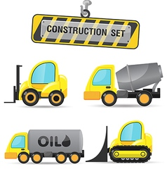 Construction symbol icon object set c vector
