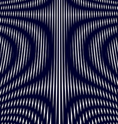 Moire pattern op art background hypnotic backdrop vector