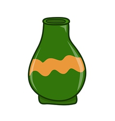 Clay jar vector