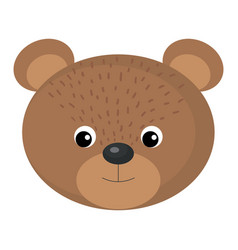 cute and tender bear vector image