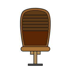 Executive offfice chair vector
