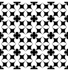 Flower abstract seamless pattern 6 vector image vector image