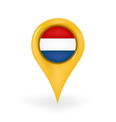Location Netherlands vector image vector image