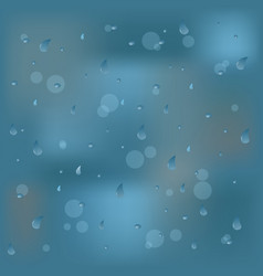 photo realistic image of raindrops or vapor vector image vector image