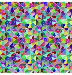 Polycolour mosaic citrus pattern vector