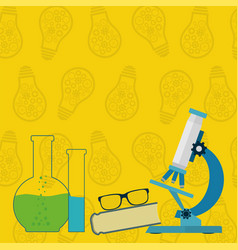 science background with place for your text vector image