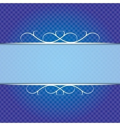 Background in blue vector