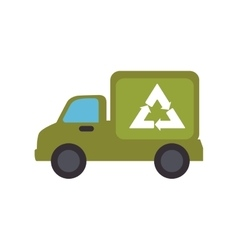 truck vehicle delivery service vector image