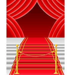 red carpet 05 vector image