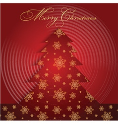 christmas tree background 0909 vector image