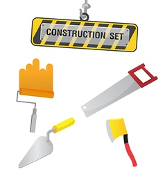 Construction Symbol Icon Object Set D vector image vector image