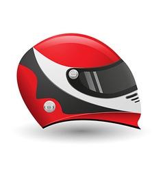 Helmet for a racer vector